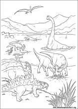Desenhos Do Dinossauro Para Colorir