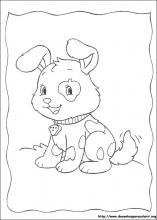 Desenhos Do Docinho De Morango Para Colorir