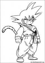 Desenhos Do Dragon Ball Z Para Colorir