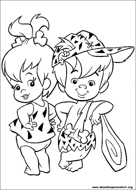 Desenhos Do Flintstones Para Colorir
