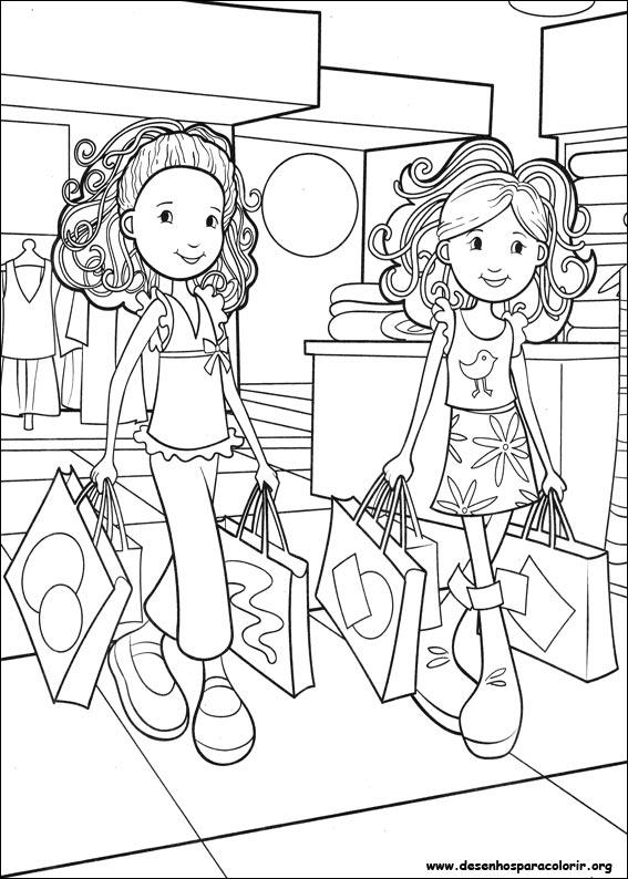 Groovy Girls Para Colorir