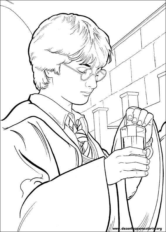 Desenhos Do Harry Potter Para Colorir