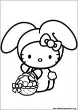 Desenhos Do Hello Kitty Para Colorir