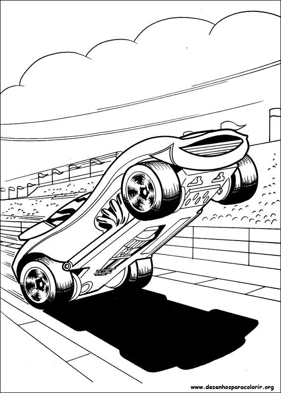 Drawing Hot Wheels 1 Desenho De Carro Da Hot Wheels Para Colorir