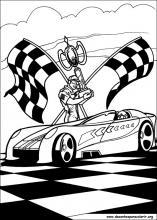 Desenhos Do Hot Wheels Para Colorir
