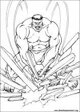 Desenhos Do Hulk Para Colorir