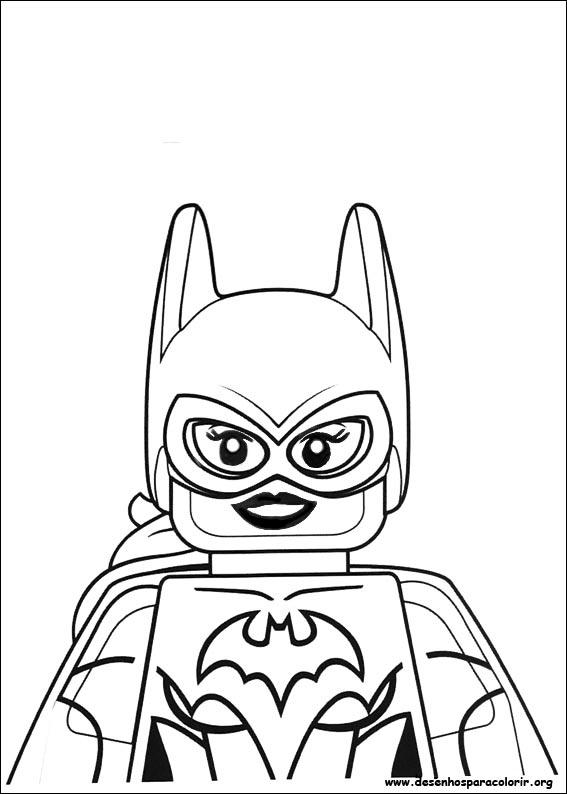 Lego Batman Para Colorir