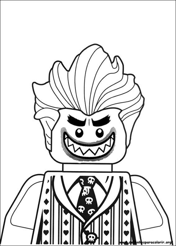Desenhos Do Lego Batman Para Colorir