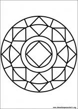Desenhos Do Mandalas Para Colorir