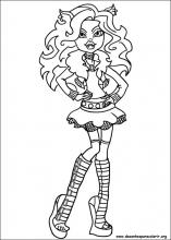 Desenhos Do Monster High Para Colorir
