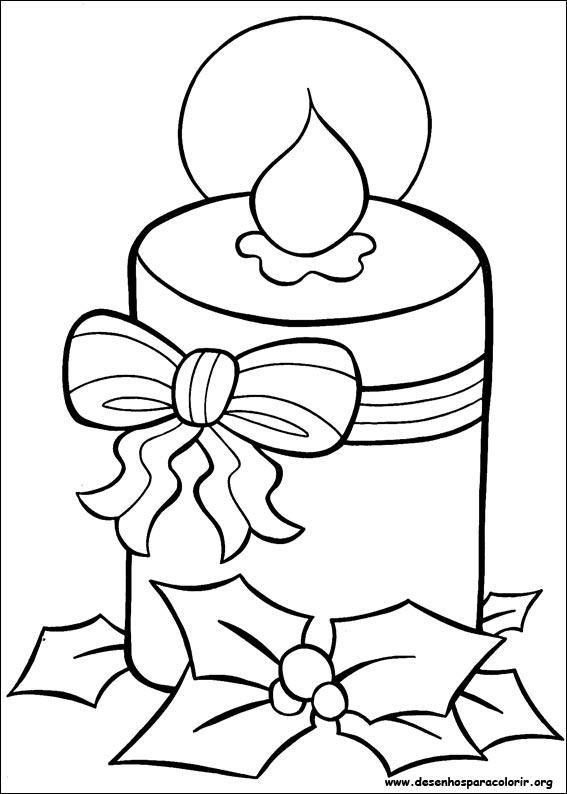 Meu Cantinho Desenhos Para Colorir De Natal