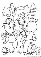Desenhos Do Os Tres Porquinhos Para Colorir