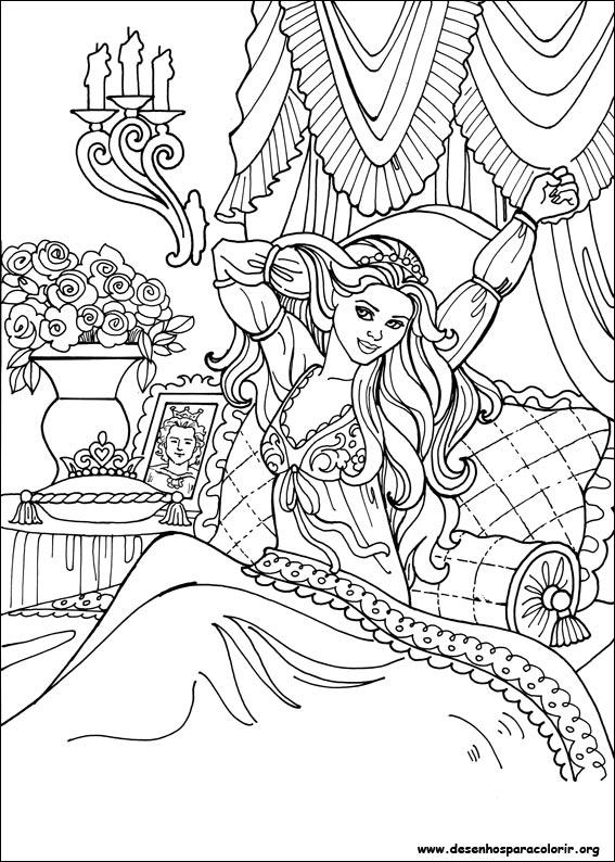 Desenhos Do Princesa Leonora Para Colorir