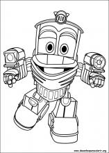 Desenhos Do Robot Trains Para Colorir