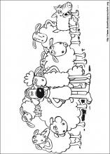 Desenhos Do Shaun O Carneiro Para Colorir