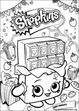 Desenhos Do Shopkins Para Colorir