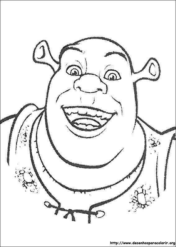 Desenhos Do Shrek Para Colorir