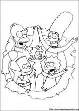 Desenhos Do Os Simpsons Para Colorir