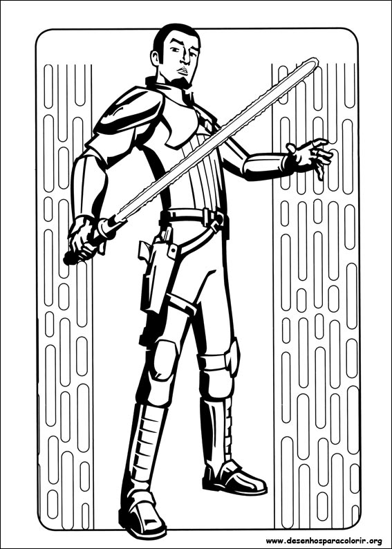 Desenhos Do Star Wars Rebels Para Colorir