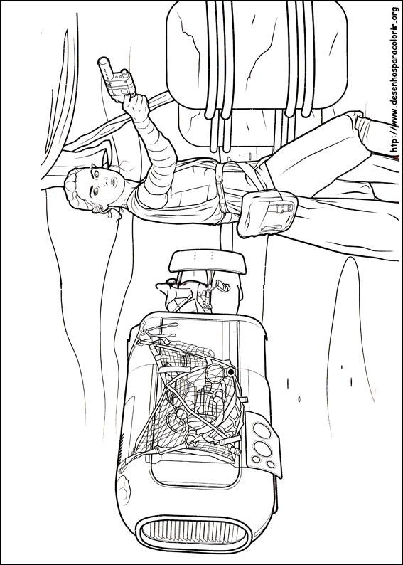 Jogo Desenhos Do Star Wars O Despertar Da For 231 A Para