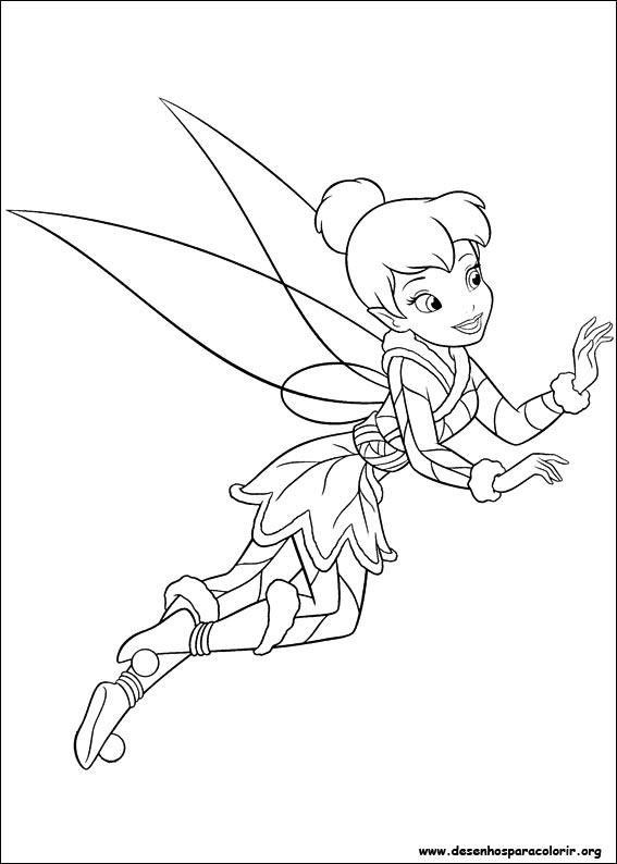 Desenhos Do Tinker Bell Para Colorir