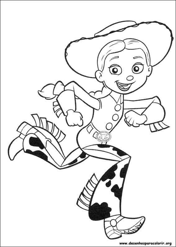 Toy Story 3 Para Colorir