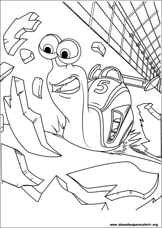 Desenhos Do Turbo Para Colorir