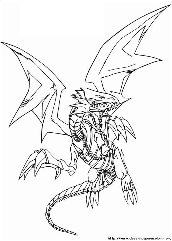 Desenhos Do Yu Gi Oh Para Colorir